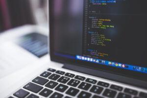 laptop met css code